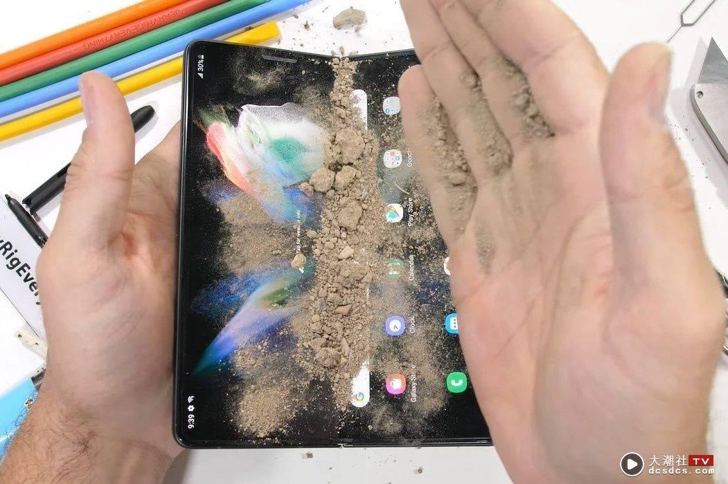刀刮火烤通通來!三星 Galaxy Z Fold3 意外堅強