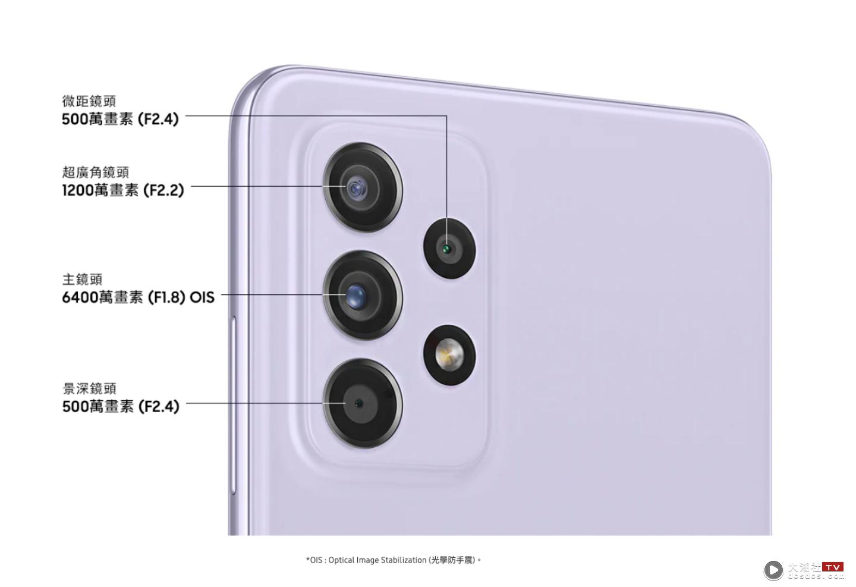 三星超值中阶机' Galaxy A52s 5G '登场!处理器升级!防水还具有高萤幕更新率,售价新台币 13,990 元起