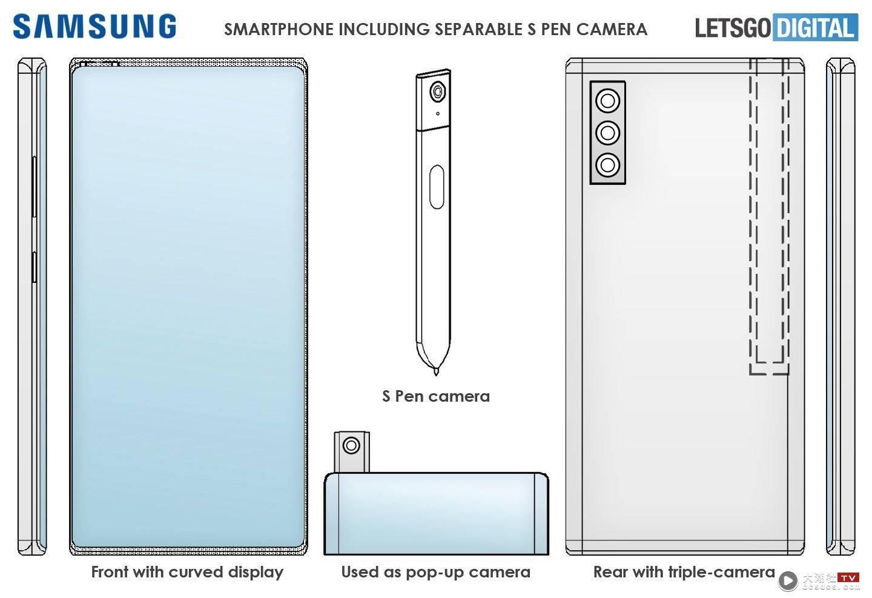 三星 S Pen 新专利曝光!加入了镜头和实体按键,功能看起来变得更完整了