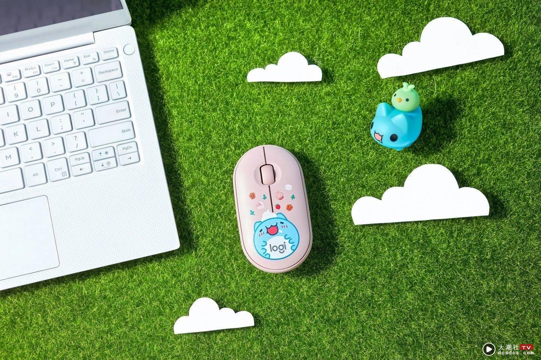 疗愈萌主咖波来了!' 罗技 X 猫猫虫咖波 '推出联名键鼠礼盒,强力放送可爱光波