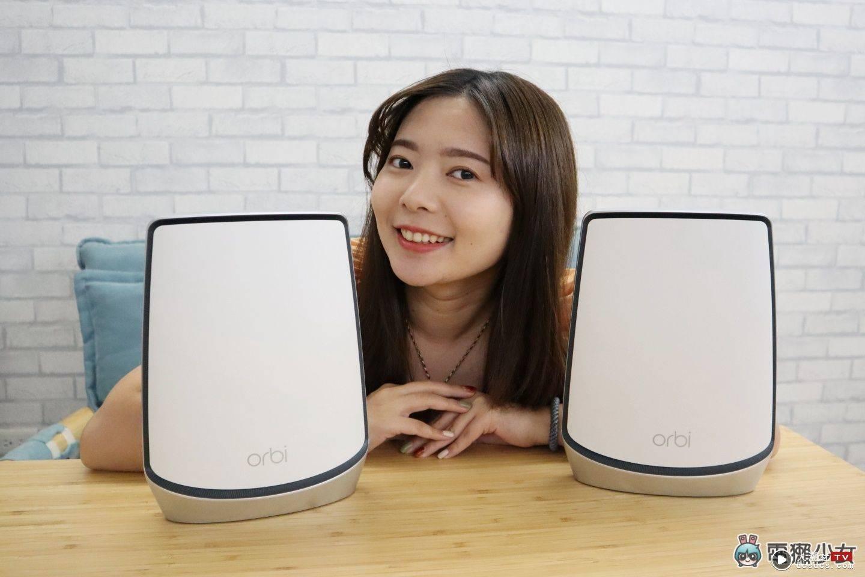 评测|跨楼层也不减网速' Netgear Orbi AX6000 三频 Mesh Wi-Fi '范围超大覆盖无死角!
